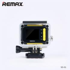 Remax Sport DV Action Camera 1080P Full HD Waterproof WithWaterproof Case SD01 Orginal (Yellow)