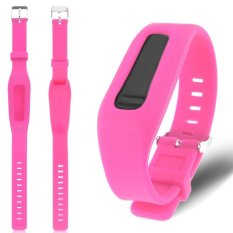 Replacement Silicone Wrist Band Strap Bracelet For Fitbit One Activity Tracker (Pink)