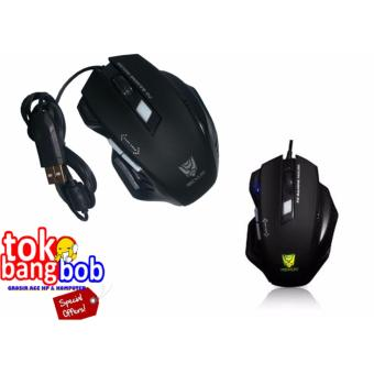 Rexus RXM-G7 Mouse Gaming USB - Hitam