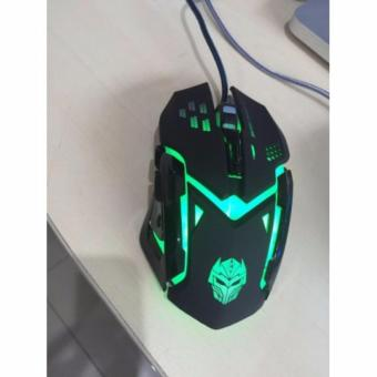 Rexus X6 Xierra Gaming Mouse gamers gamer game mous - RXM-X6 -Black