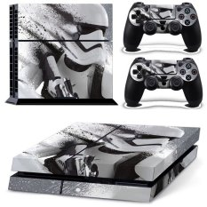 Robot Skin Sticker For PS4 PlayStation 4 Console + 2 Controller Protector Skin - Intl