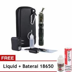 Rokok Elektrik Vapor Ego X6 Vape With Bag Hitam + Free Baterai dan Liquid