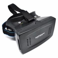 RS Taffware Cardboard VR Box Head Mount Second Generation 3D Virtual Reality - Black