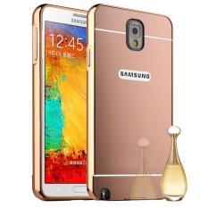 RUILEAN logam mewah aluminium hardcase belakang Bumper untuk Samsung Galaxy Note 3 N9000 berwarna merah