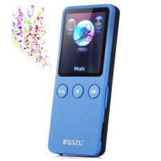 RUIZU X0.8GB 200 Hours Digital MP3 Player Music Vedio Player Supporting TF Card FM Stereo Radio (Blue) - Intl
