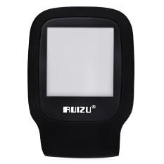RUIZU X09 FM Radio 1.5 Inch TFT LCD Screen TF Card MP3 Player (Black) - Intl