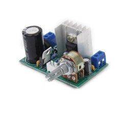 S & F AC / DC 3-40V LM317 Adjustable Voltage Regulator Step-down Power Supply Module