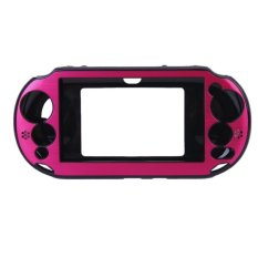 S & F Aluminum Hard Case Cover For Sony PlayStation VITA 2000 Pink