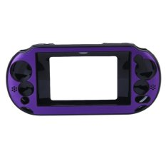 S & F Aluminum Hard Case Cover For Sony PlayStation VITA 2000 Purple