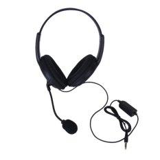 S & F Stereo Headphone with Microphone Volume Control For Sony PS4