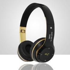 S480 Wireless Bluetooth Headphone Foldable 3D Surround (Black)
