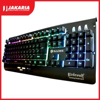 SADES Bladewolf Gaming Keyboard - Rainbow