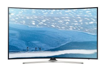 Samsung 49 Inch UHD 4K Curved Smart LED Digital TV 49KU6300 - Khusus Area Jadetabek
