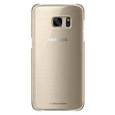 Samsung Clear Cover Galaxy S7 Edge - Gold