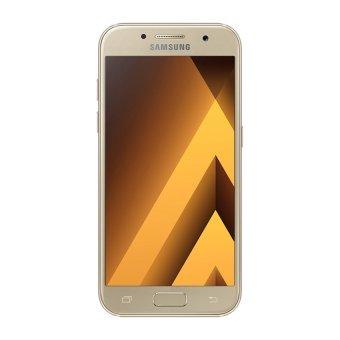 Samsung Galaxy A3 2017 SM-A320 - Gold + Free kartu Telkomsel