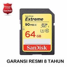 Sandisk Extreme Memory Card SDXC UHS-I 64GB / 90MB/s