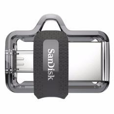 SanDisk m3.0 Ultra Dual USB Drive OTG [16 GB/USB 3.0] #Garansi Resmi#