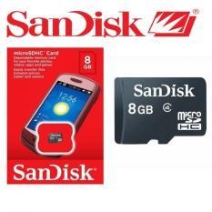 SanDisk Memori Card 8GB Class 4