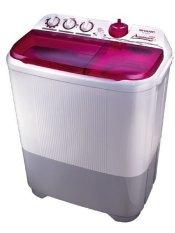 Sharp Mesin Cuci 2 Tabung ES-T85CR-PK 8 Kg - Pink- Khusus Jabodetabek