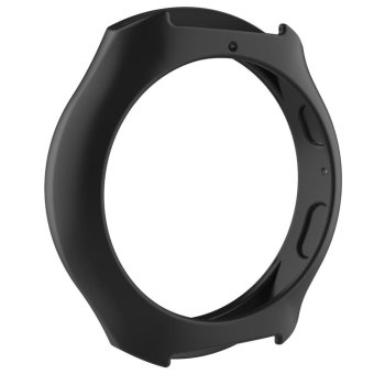 Silicone Protect Case Frame Cover for Samsung Galaxy GearS2/SM-R720/SM-R73(Black) - intl