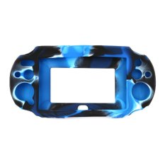 Silicone Rubber Gel Protective Skin Case Cover (Blue) - Intl