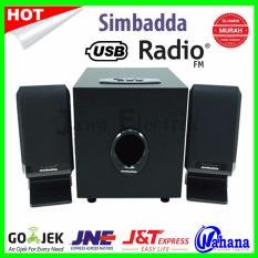 Simbadda Multimedia Speaker CST 1300 N - Hitam