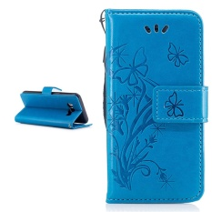 """Simple Style Wallet Style Premium [Soft TPU + PU Leather] Flip Stand Shell Protection Cover for Samsung Galaxy J510FN / J5 (2016) 5.2"""" Case - intl"""