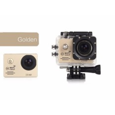 SJ4000E 720p HD WIFI Video Action Camera Sport Cam - Gold