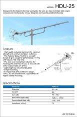 Skybox All New H-1 Set Top Box DVB-T2 + Antena PF Digital HDU-25