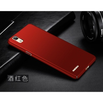 Slim Fit Shell Hard Full Protective Anti-Scratch Resistant Cover Case for OPPO F1/A35(Red) - intl