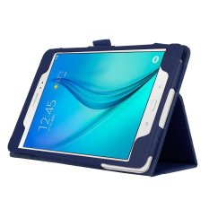 Slim Leather Case Cover for Samsung Galaxy Tab A 8.0 inch Tablet SM-T350 (Blue)