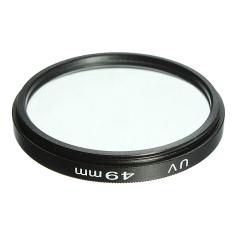 Slim UV Filter Ultra-Violet Lens Protector For Nikon Canon Sony Pentax Camera (Black)
