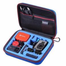 """Smatree SmaCase G160s Wadah Bawaan Kecil Dengan Potongan Busa EVA Untuk Gopro Hero 5/4 / 3 + / 3/2 / 1 Blue (8.6"""" X6.7"""" X2.7"""") (TIDAK Termasuk Kamera Dan Aksesoris)"""