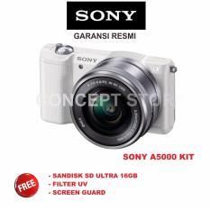 SONY A5000 L 16-50MM . A5000L . A 5000 L . A 5000L WHITE