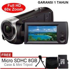 Sony Handycam HDR-CX405 Full HD - Gratis MicroSD 8GB + Tas + Tripod