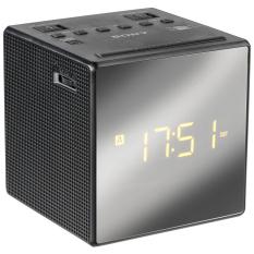 Sony ICF - C1T Alarm Clock AM / FM Radio - Hitam