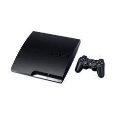 Sony Playstation 3 Slim 120 GB Original Full Games PSN (CFW) - Hitam