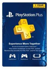 Sony Playstation 4 PSN Plus 1 Year