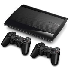 Sony Playstation PS3 Super Slim Hardisk 500GB Full Games Injek 35 Games