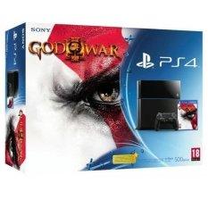 Sony PS4 - 500GB Dvd Ps4 God Of War - Hitam