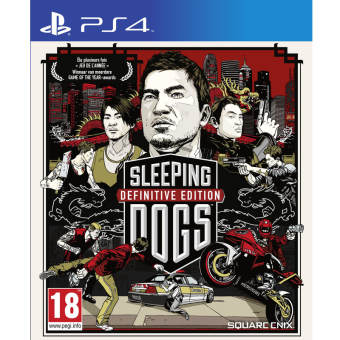 Sony PS4 Game Sleeping Dog Definitive Edition