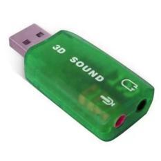Sound Card Eksternal USB DSP 5.1 Mono Channel