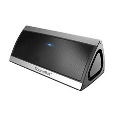 SoundBot SB52.3D HD Bluetooth 4.0 Wireless Speaker For 15 Hours Music Streaming & Hands-Free Calling With Passive Sub Woofer, Built-in Mic, 3.5mm Audio Port (Silver) - Intl