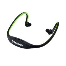 Sport Headset Wireless Bluetooth Stereo BTH 404 with Mic Deep Bass - Hitam