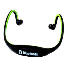 S9 Sport Earphones Wireless Bluetooth Headphones (Green)
