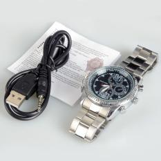 Spy Wrist DV Watch 4G Video 1280x960 Hidden Camera DVR CamcorderSilver - Intl