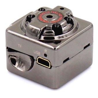 SQ8 aluminium Mini 1080P HD penuh 12.0 megapiksel kamera video CMOS DVR dengan deteksi gerak/malam visi