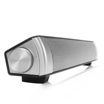 Suara Bar nirkabel Subwoofer Bluetooth Speaker hitam