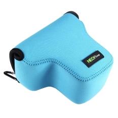 SUNSKY NEOpine Neoprene Shockproof Soft Case Bag with Hook For Panasonic GX8 (Blue)