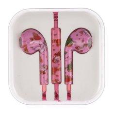 SuperCart In-Ear Headphones Audio-technica Tiny In-Ear Headphones For Cell Phones Tablet (Pink) (Intl)